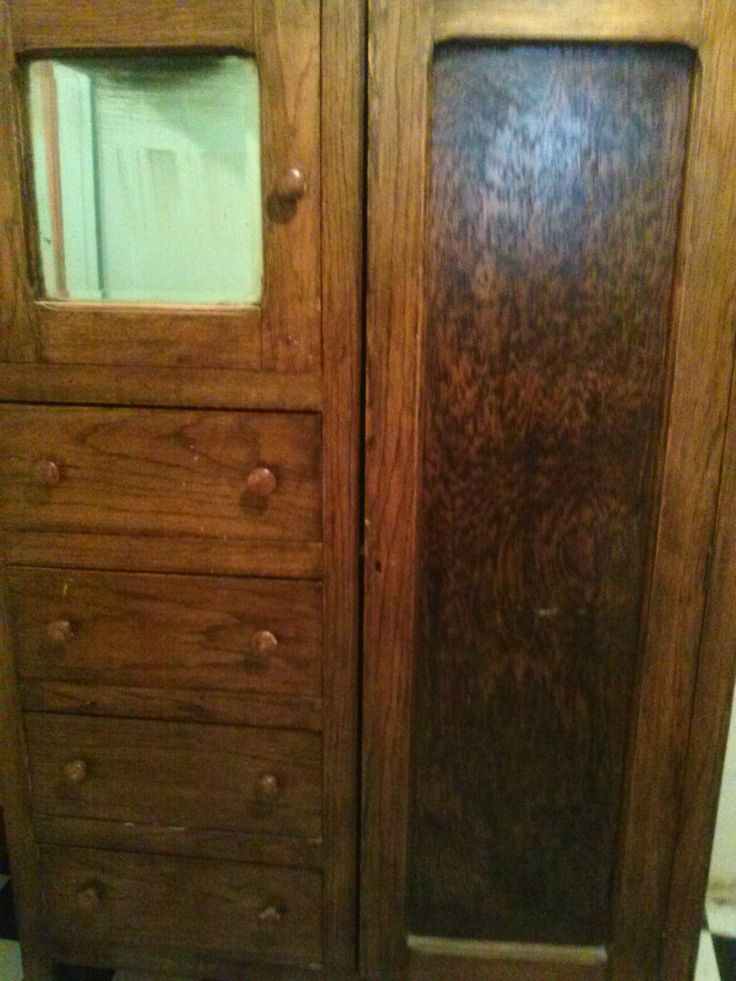 Antique Chifforobe With Mirror Ebay Mirror And Antiques