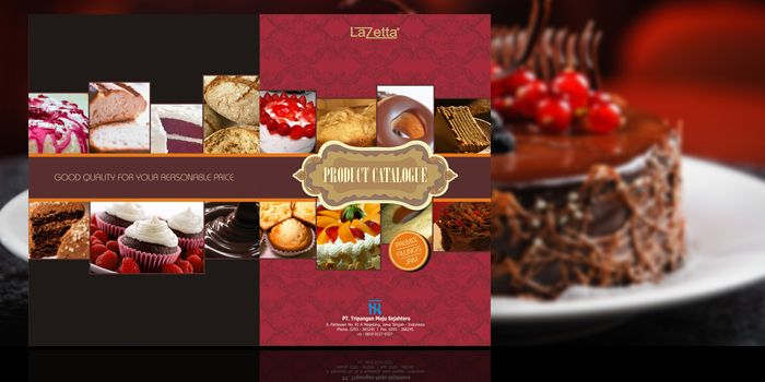Product Catalog LAZEETA Cake