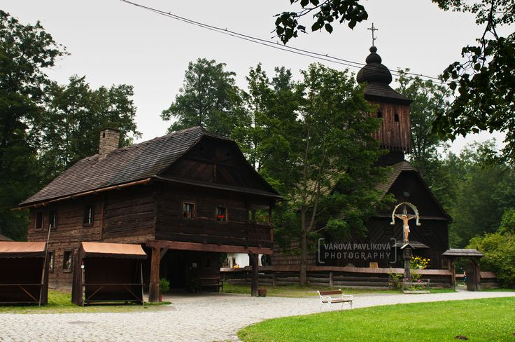 The Wooden Townlet (Wallachian Open Air Museum, Rožnov pod Radhoštěm)