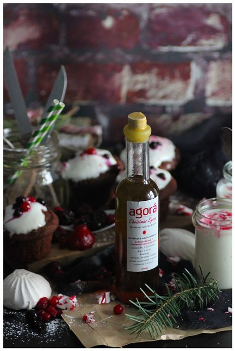 Taste one of the limited bottles of Christmas Syrup for your last Christmas days!  Photo: our lovely Majeriko team