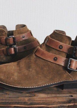 Kaufe meinen Artikel bei #Kleiderkreisel http://www.kleiderkreisel.de/damenschuhe/stiefeletten/142724294-sancino-bootie-braun-levis-chelsea-boots