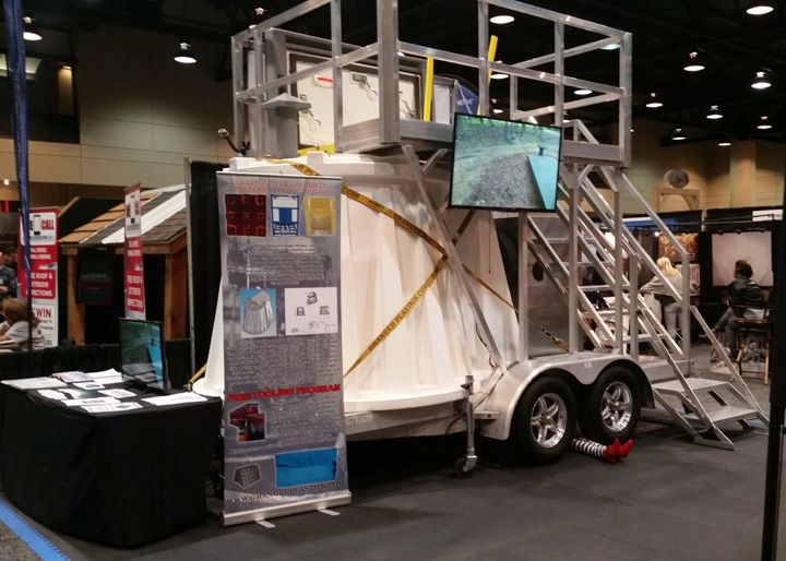 Birmingham Alabama Home Show Crowd Flocks To Granger Plastics Tornado  Shelter