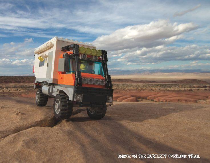 Lego Unimog Camper in Moab