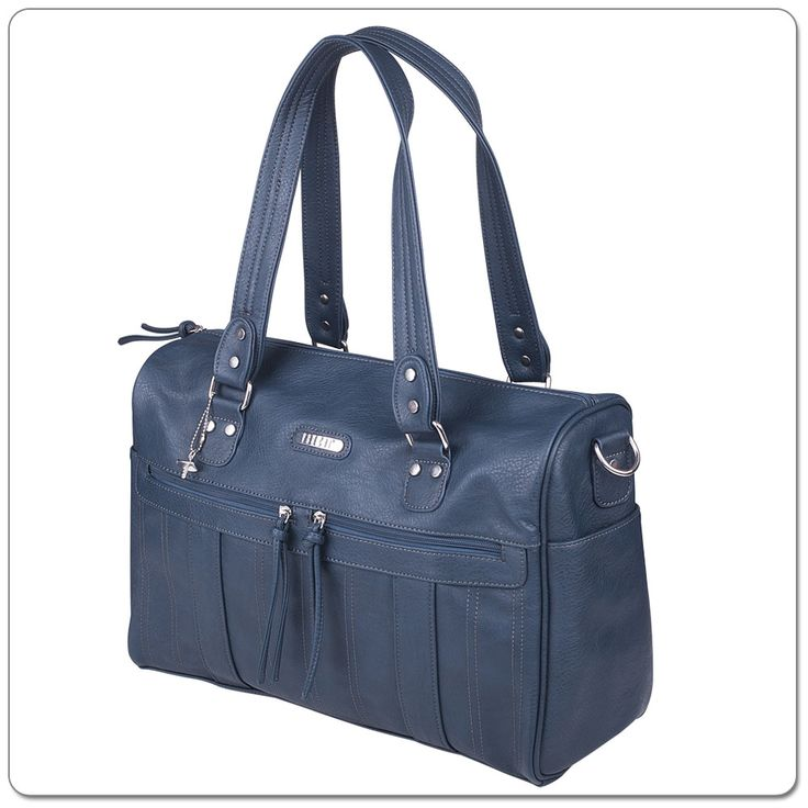 Introducing the VANCHI Indie in Indigo, the latest in function & fashion in nappy bags