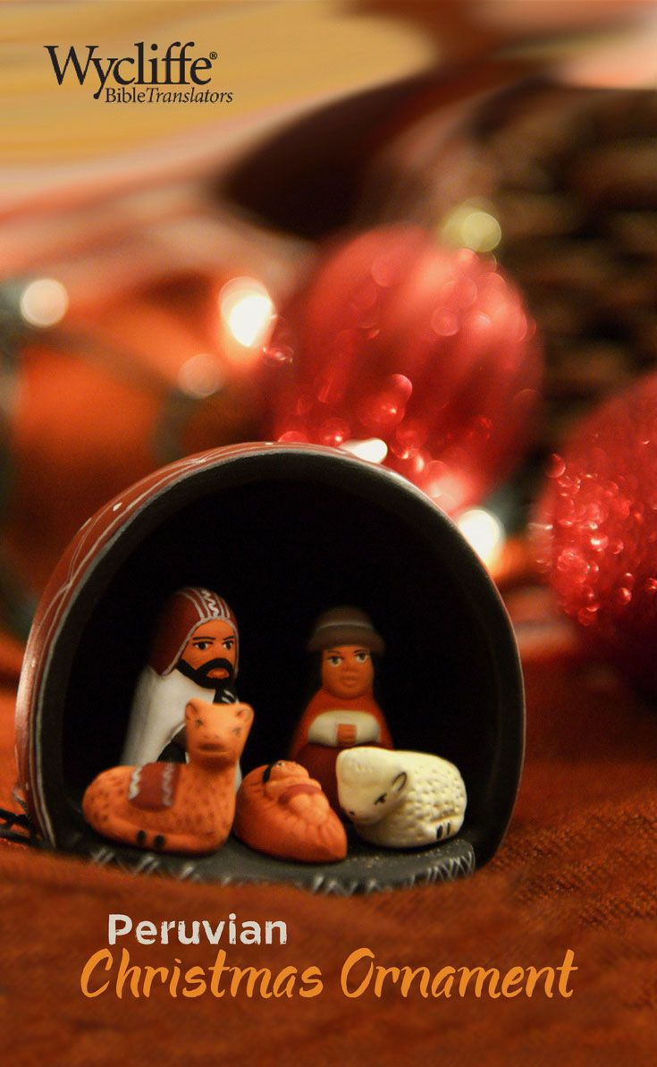 Peruvian christmas ornaments - Bring Peru To Your Christmas Tree With This Natural Nativity Ornament