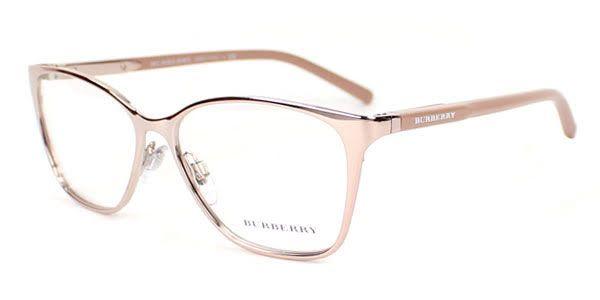 Burberry BE1255 Eyeglasses,  1188 Rose Gold   Rose Gold 87f2ddb651