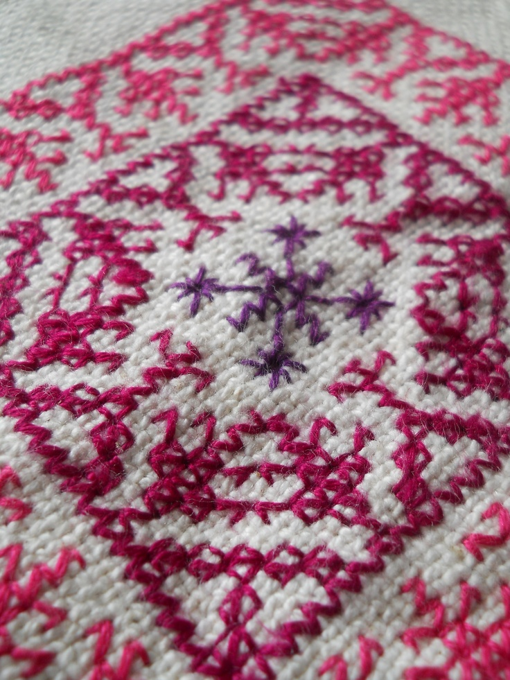 Fez Embroidery    Morocco