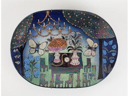 Strange bird / Birger Kaipiainen´s ceramic fantasies. 19.06.2013 to 12.01.2014. Photo: Niclas Warius