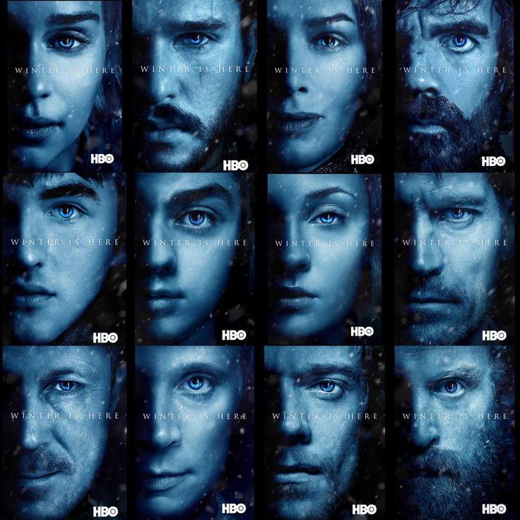 Winter is here. Game of thrones season 7