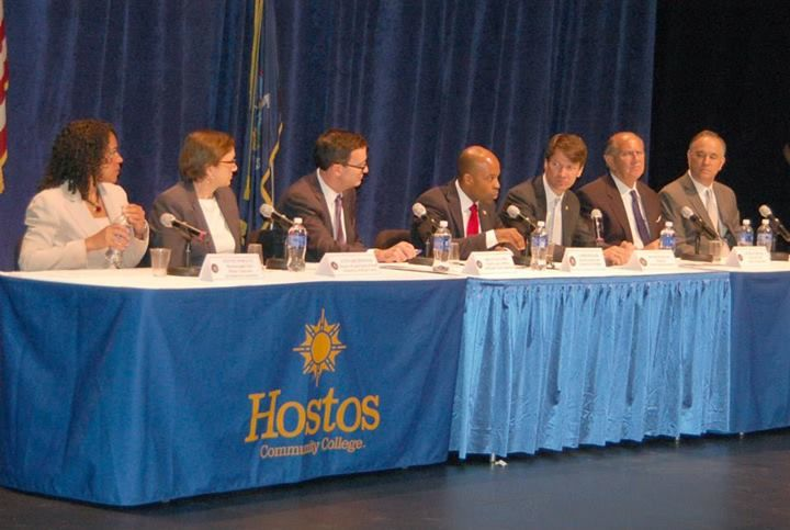 Strikeforce announcement at Hostos Community College in the Bronx. Learn More: http://lnkd.in/dgpNy_e