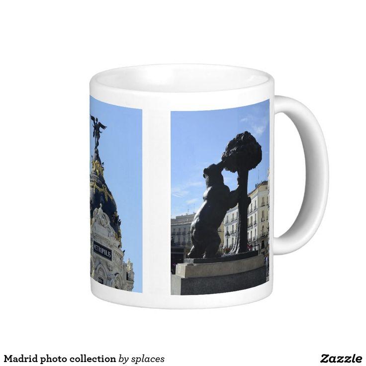 Madrid photo collection coffee mug