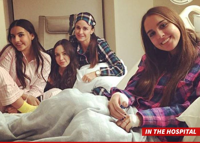 Kyle Richards' daughter was the victim of a vicious pit bull attack ... a dog owned by Kyle's own sister Kim, and the damage was so severe it required multiple surgeries. We're told 18-year-old Alexia Umansky spent the weekend at Cedars-Sinai Medical Center, twice going under the knife. The attack occurred early Saturday at Kim's L.A. area home. Kyle, Alexia and other members of their family had been inside the house for a while ... when the dog went into attack mode out of nowhere.