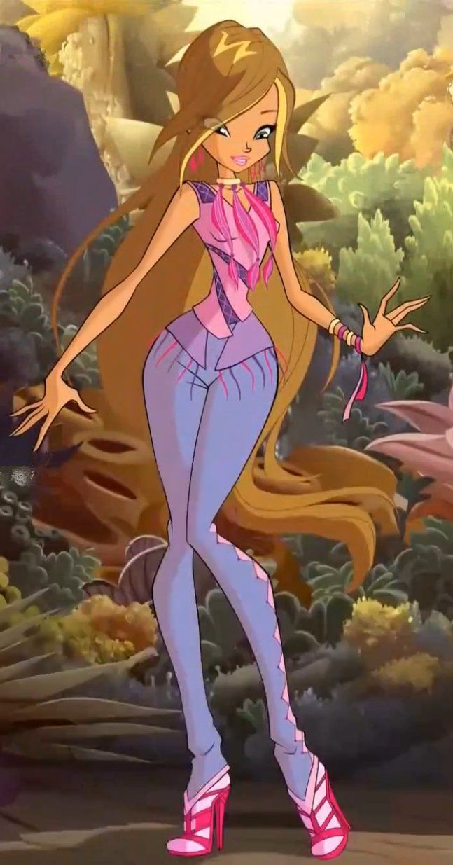 615 best magical world of the winx images on pinterest winx club flora is one of the plant magic teachers here at the school and she is part of the winx club baditri Gallery
