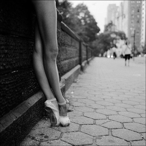 Never judge a dancer until you've walking a mile in your pointe shoes.