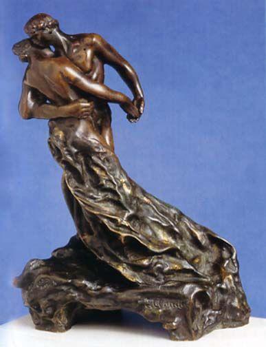 La valse, by Camille Claudel: