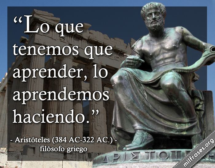 Frases de aristoteles google search knowledge and - Frases en griego clasico ...