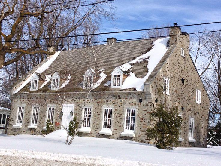 Maison ancestrale de Boucherville, Québec••