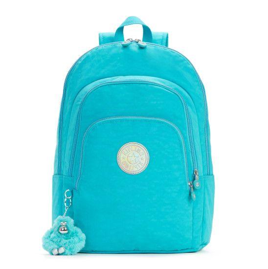 Miles Laptop Backpack - Cool Turquoise | Kipling