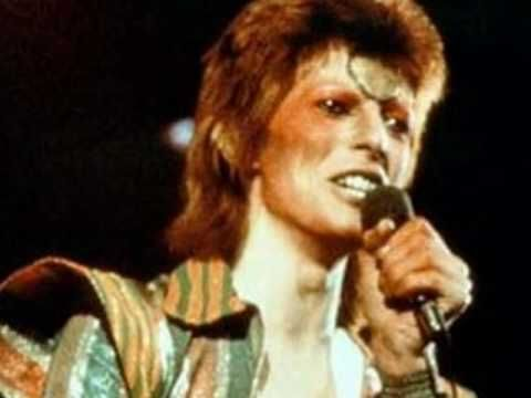 David Bowie - Moonage Daydream (a great photo collage set to a great song)