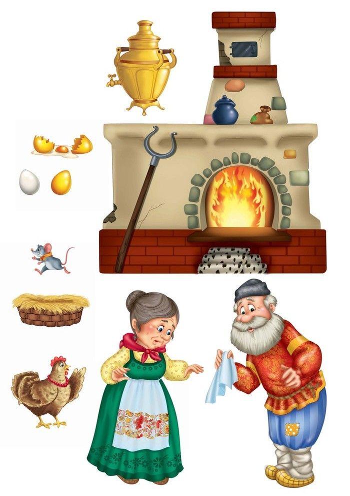 Сообщество иллюстраторов | Иллюстрация Косторнова Катерина - магнитный театр по сказке Репка. Детский. Растровая (цифровая) графика