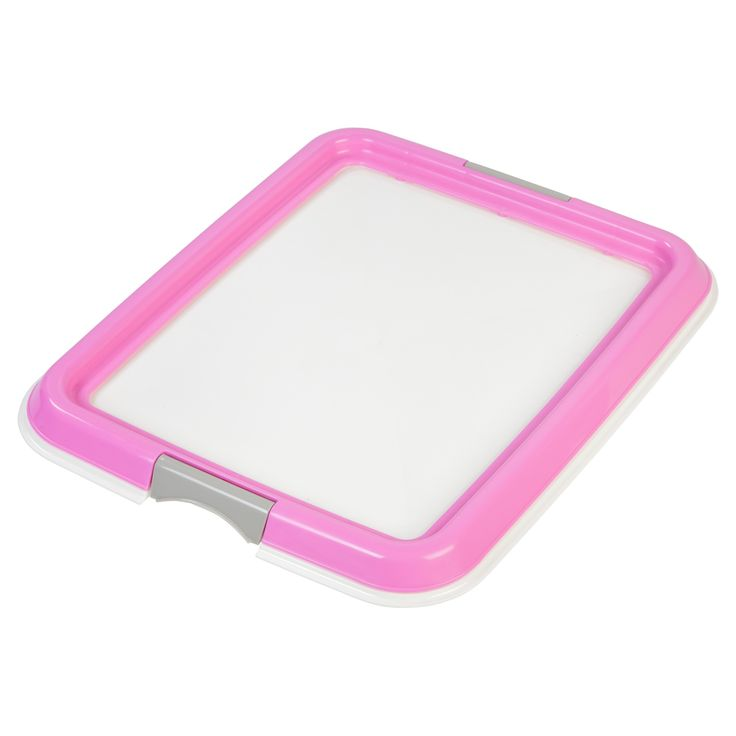 Iris Puppy Training Pad Tray - Pink (Small)