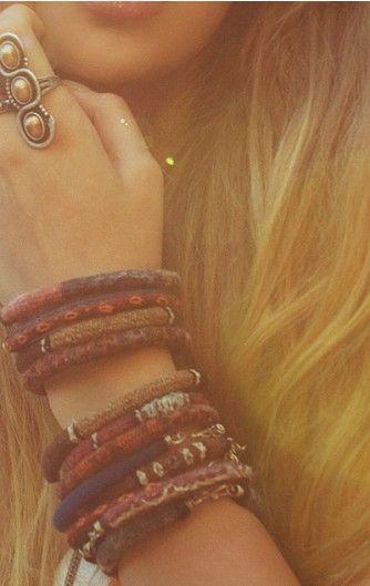 peruvia bracelets