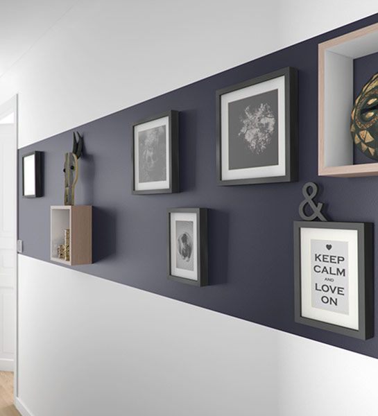 1000 id es sur le th me couloir sombre sur pinterest for Decorer grand mur blanc