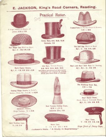 Hat Collection at Jacksons, 1900 - 1910