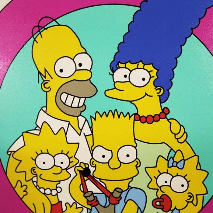 Everyone loves the Simpsond! The Simpsons Arcade Machine
