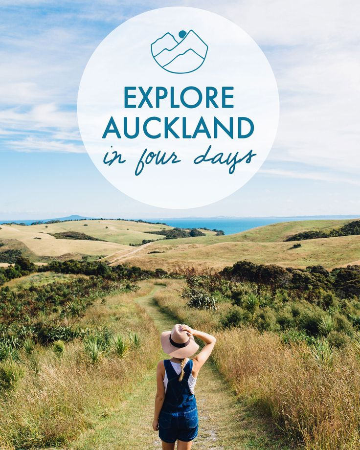 A guide on exploring the very best of Auckland in just 4 days!