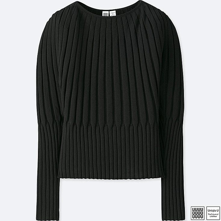 Uniqlo cotton cashmere crewneck