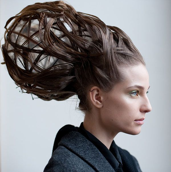 Hair Show Hairstyles | Paris couture shows always inspire with their avant garde collections | www.beautyvirtualdistributor.com