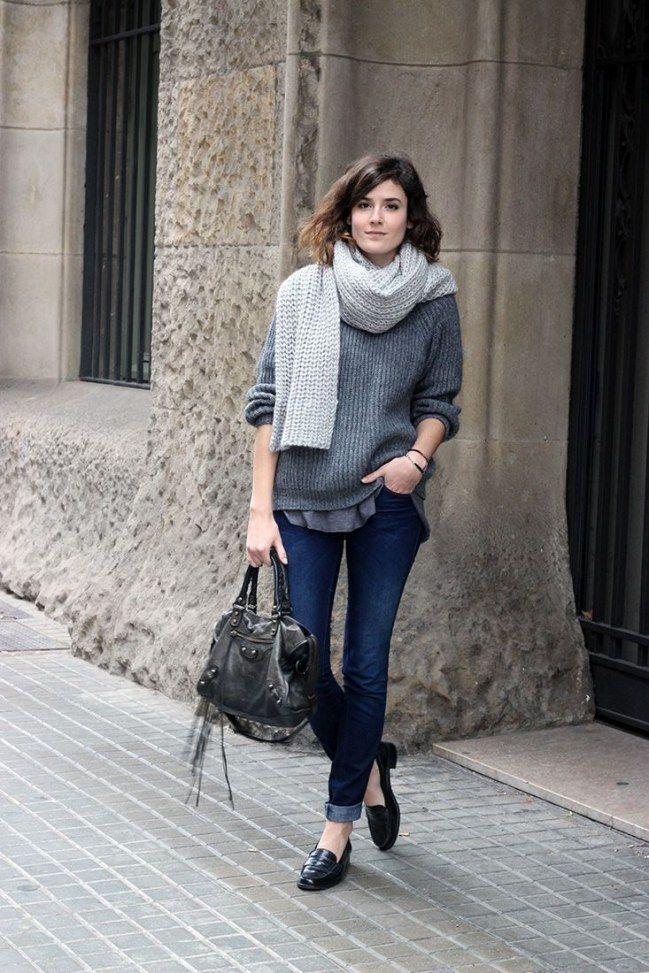 Grau in grau ist in! 8 Styling-Geheimnisse, die wir uns von den Französinnen abschauen sollten Parisian Chic: So stylt ihr den Look nach