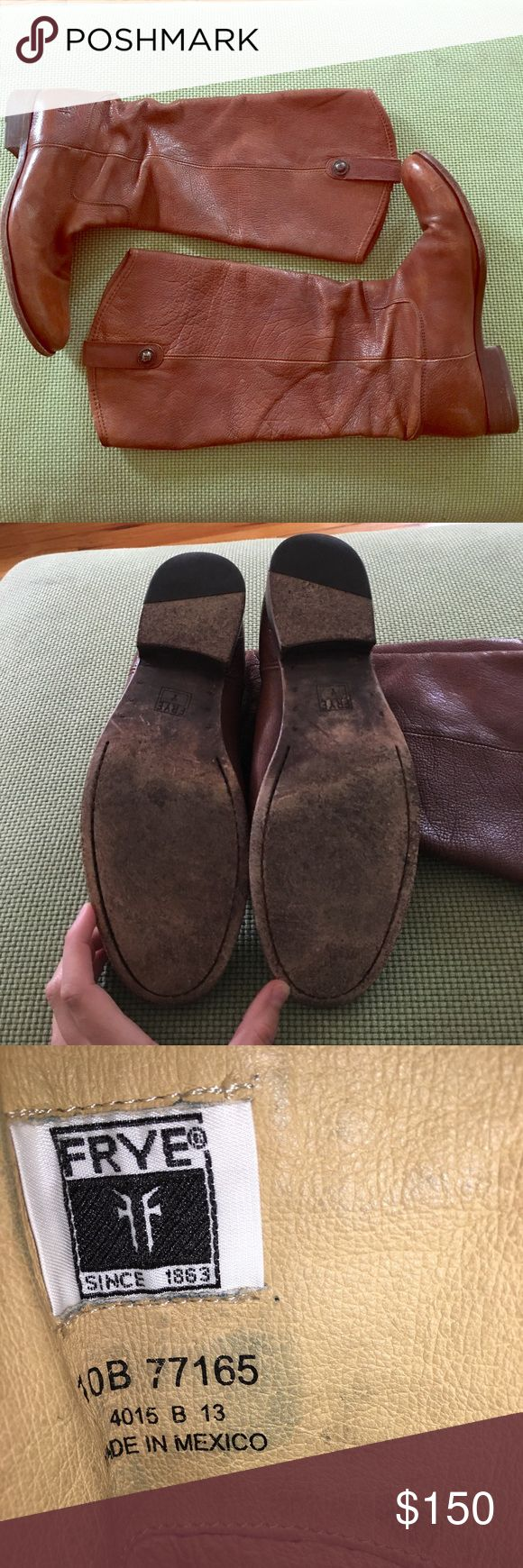 Frey Melissa Button Boots Frye Melissa Button Boots in Size 10. Cognac color leather. Gently worn for 1 season, these boots have a TON of life left in them! Frye Shoes