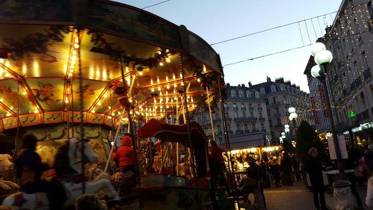 Grenoble at Christmas