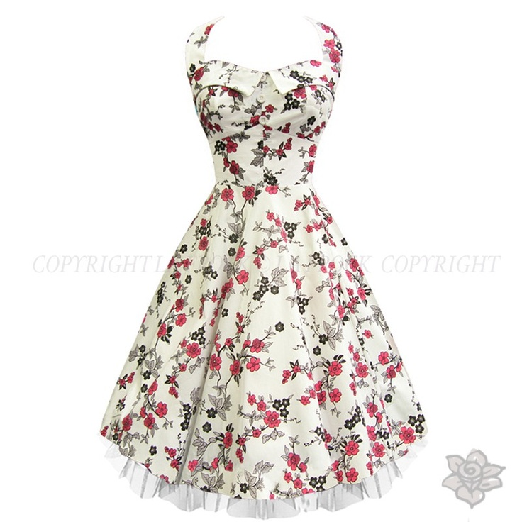 "LaFrock's ""Blossom"" Prom Pin Up Dress"