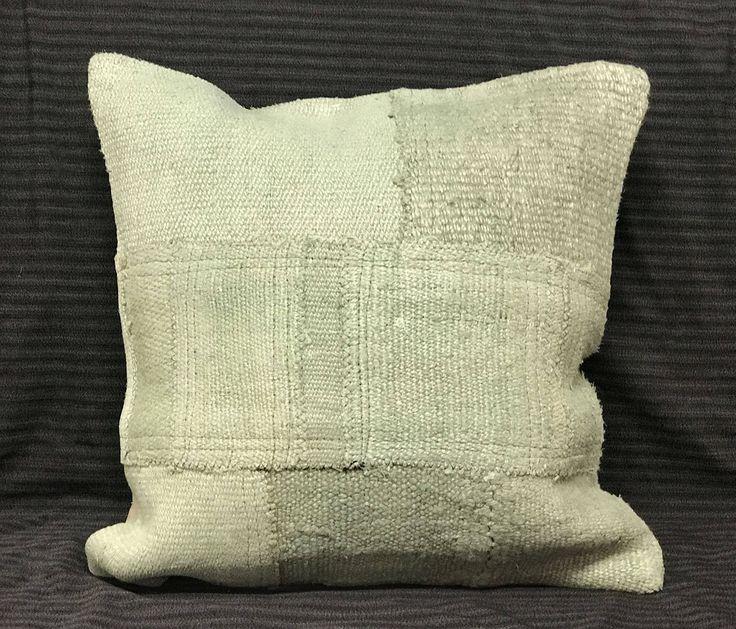 HEMP Pillow Handmade Pillow Cover Traditional Pillow Turkish Hemp Pillow Vintage Pillow Boho Pillows Hemp Rug Pillow Cover Turkish Bedding by TurkishBohoChic on Etsy