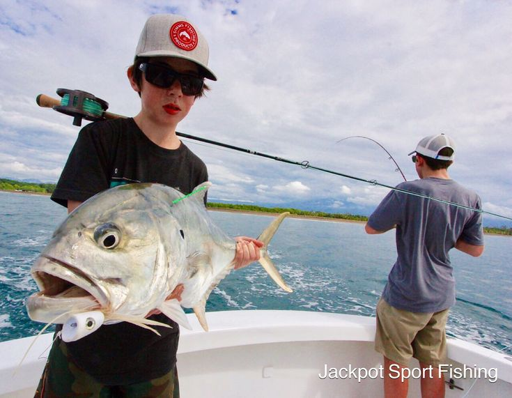 Double Jacks with Tyler & Sebastian Aboard GOOD DAY in Quepos Costa Rica!
