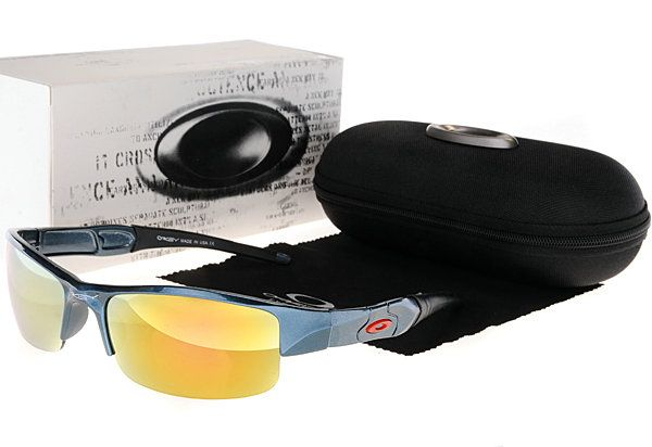 Oakley Asian Fit Flak Jacket Sunglasses Cyan Frame Yellow Lens  $34.96 http://www.bigbootshotsale.com/