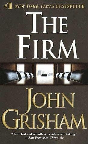 My favourite John Grisham books and one of my favourite movies (with Tom Crusie)