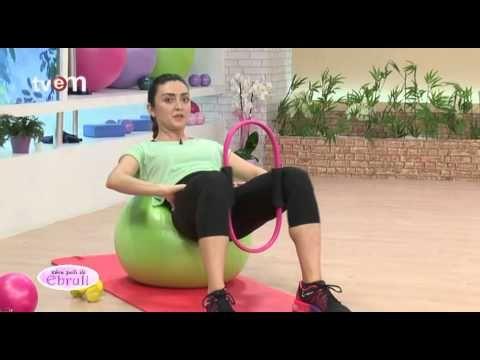 Ebru Şallı İle Pilates Egzersizleri 15.Bölüm - YouTube