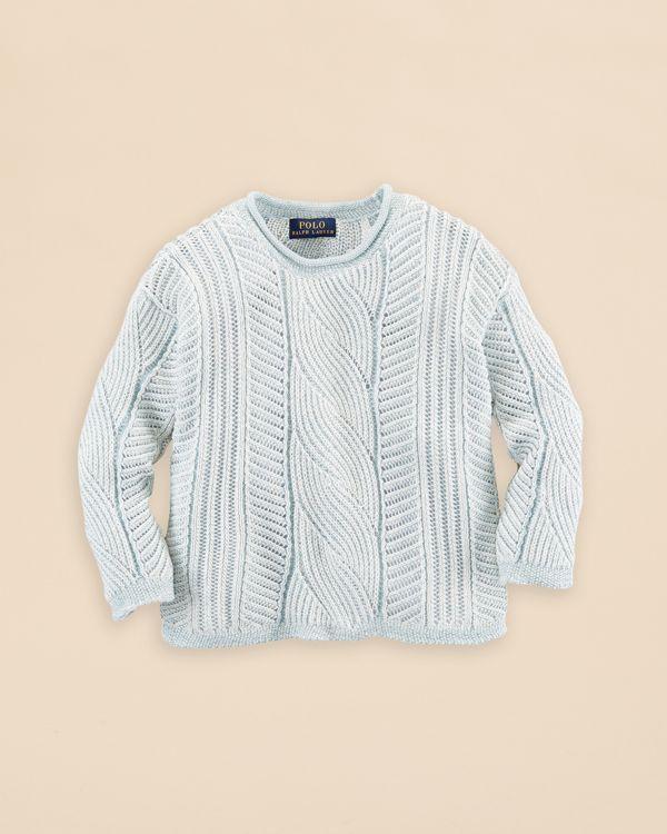 Ralph Lauren Childrenswear Girls' Slouch Sweater - Sizes 2-6X