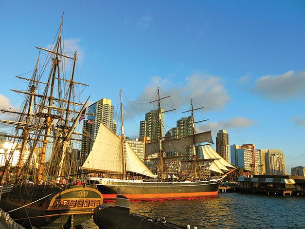 San DIegos Best Outdoor Wedding Venues 8 Maritime Museum Diego If You