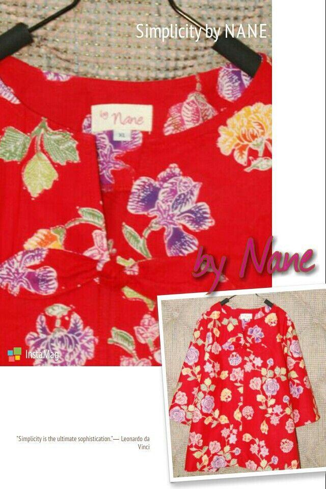 Simple Batik Blouse