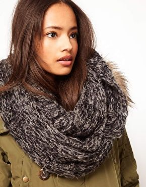 Winter Essential: ASOS Textured Knit Snood, great colour, will go with most things in your wardrobe.