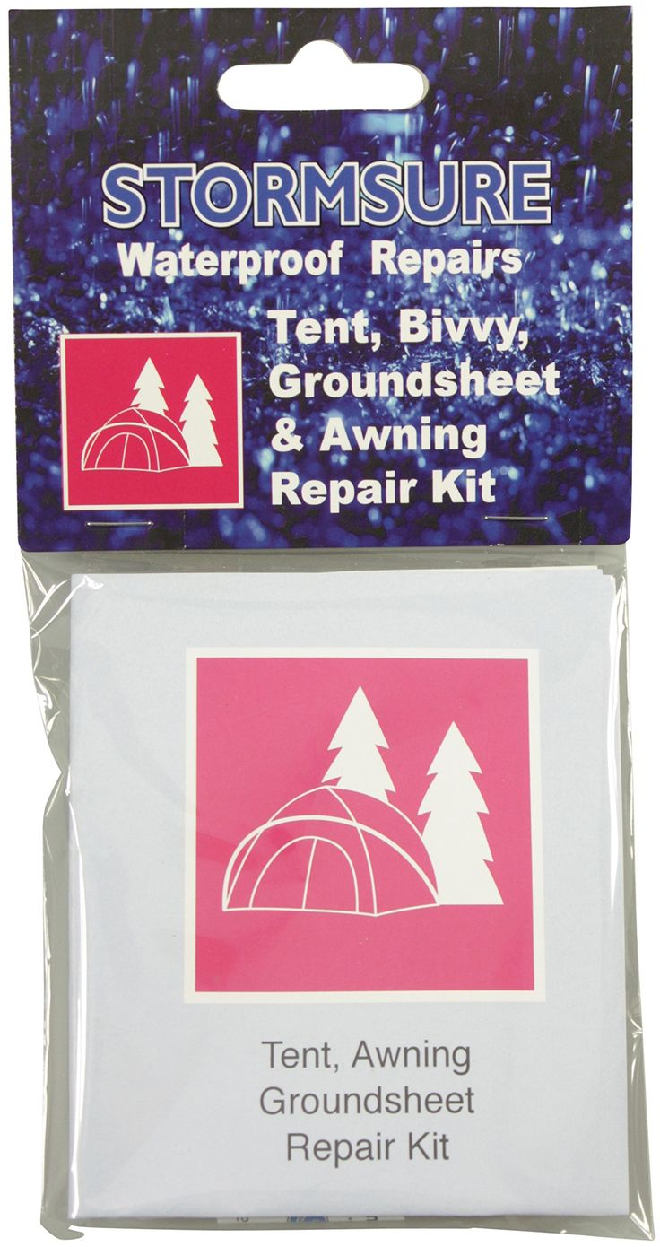 Tent, Awning and Canopy Repair Kit. Storm Sure Tent and Awning Repair Kit - White. n/a.