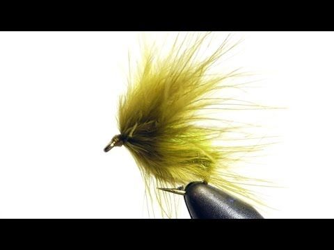 Grass Carp Moss Fly Tying Video Instructions - YouTube