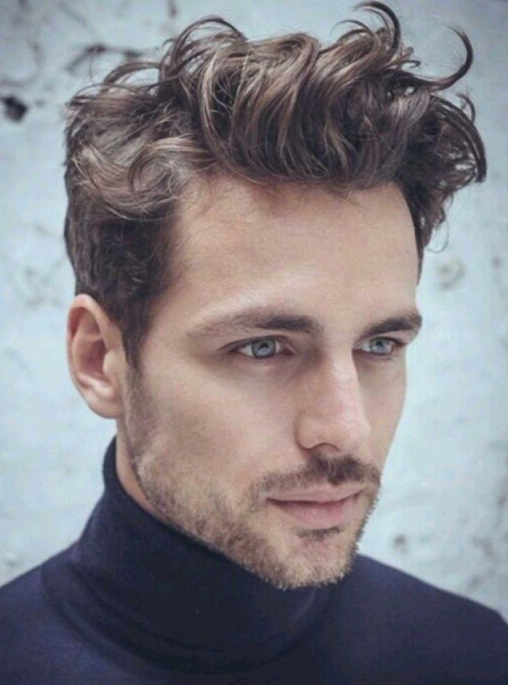Gorgeous Men S Hair Messymediummenshairstyles Frisuren Manner Locken Manner Frisur Kurz Frisuren Manner Locken Kurz