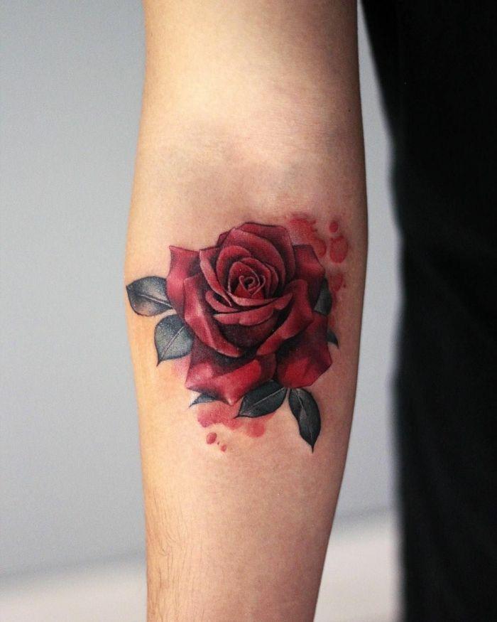 1001 Ideas De Tatuajes De Rosas Super Bonitos Con Fuerte Significado Tatuajes De Rosas Tatuajes De Rosas Para Hombres Diseno De Tatuaje Rosa