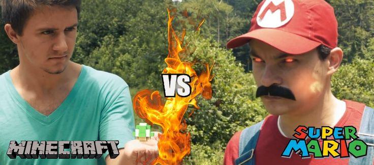 Mario vs Minecraft : qui sera le plus fort ?